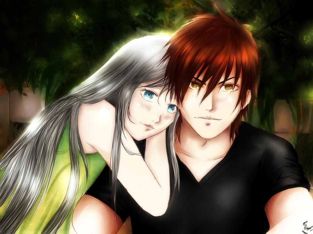 Rima and Dash portrait by DFKAZE