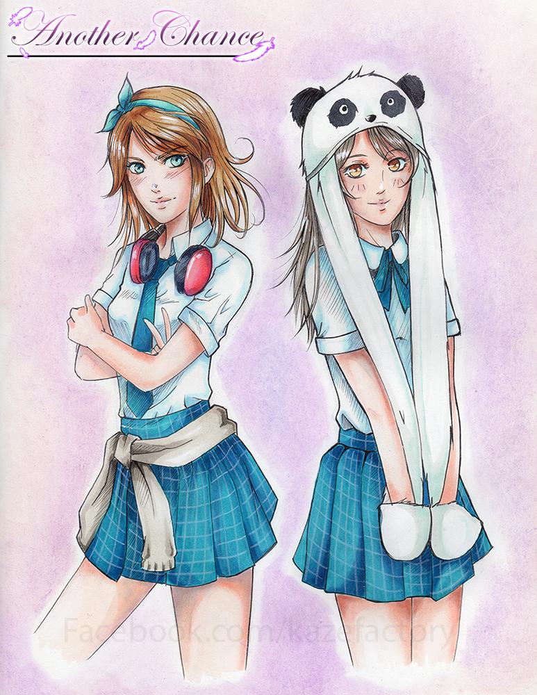 Robin y Alison by KazeGonzalez