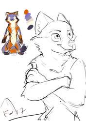 Zootopian Burtan Character Design Pt 2