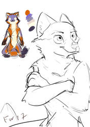 Zootopian Burtan Character Design Pt 2 by BurtanTae