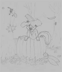Fox in the Fall