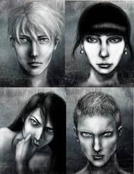 Portraits by litsiu