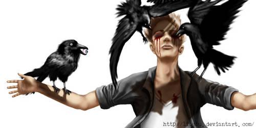 Raven by litsiu