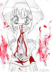 Karin - Chibi Vampire by daijoubus
