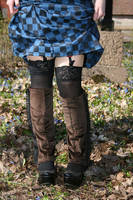 Brown spats