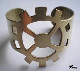Gear bracelet by masque242