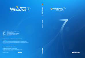 Microsoft Windows 7 Home cover