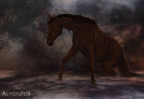Four Horsemen - Famine by Almerious