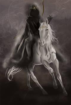 The Four Horsemen- White Horse