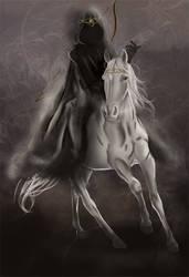 The Four Horsemen- White Horse by Almerious