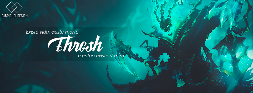 Facebook Cover - Thresh ( league of legends ) by gabrielgh