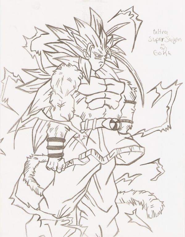 Goku super saiyan 5 coloring pages imagui for Goku super saiyan 5 coloring pages