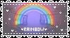 F2U Glowing Rainbow Stamp by Ssodi