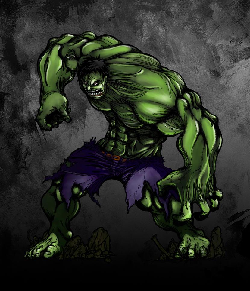 Hulk Fanart by EstudioEnder