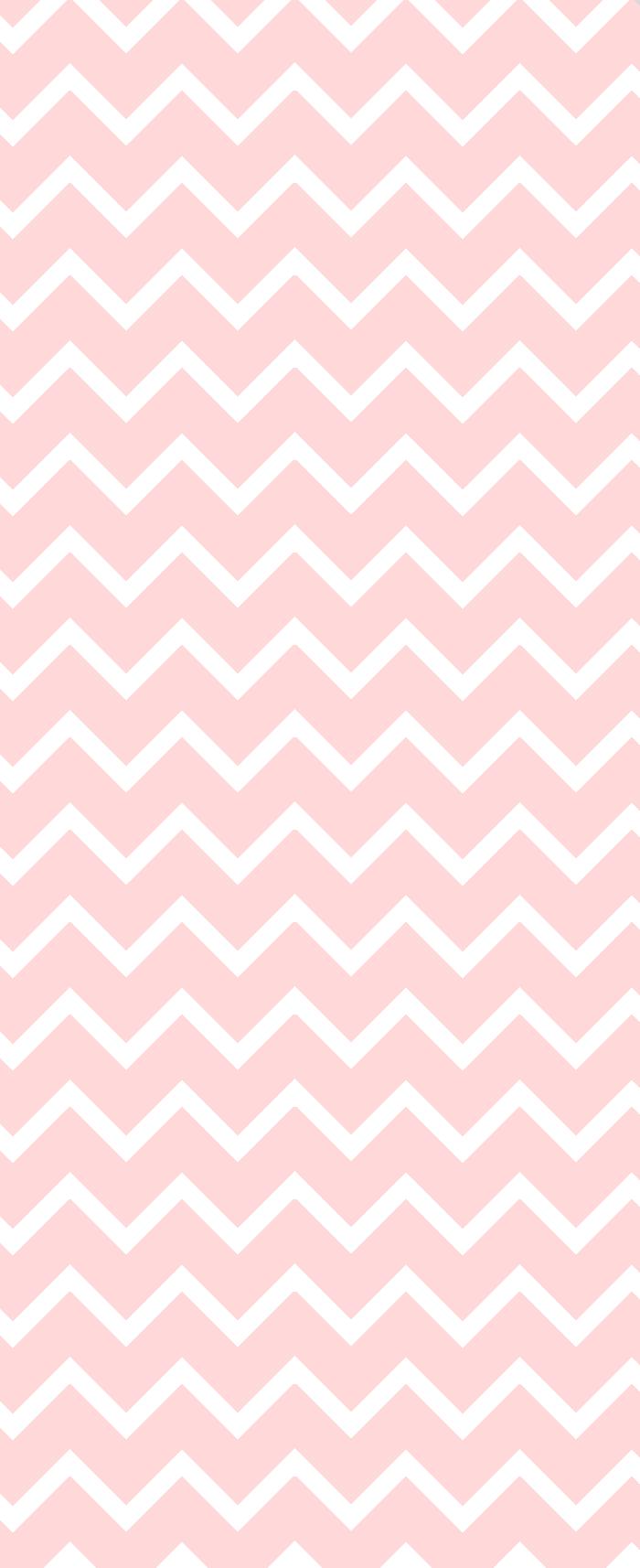 Pink Chevron - Custom Box Background
