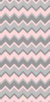 Pink and Grey Chevron - Custom Box Background