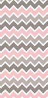 Pink Grey White Chevron - Custom Box Background