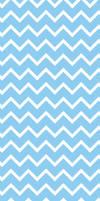 Sky Blue Chevron - custom box background