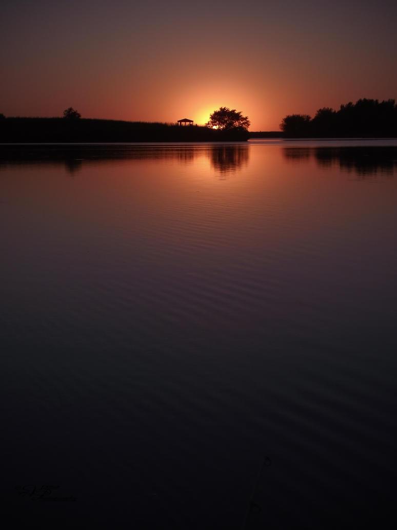 Sunset Gazebo by tjsviews
