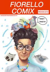 Cover fiorello comix by marycry83