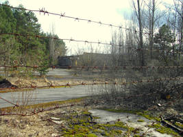 After the accident at Chernobyl NPP 1 by Bobrbor