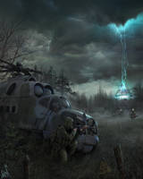 In the ambush. by Bobrbor