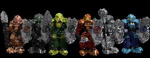 Team Bionicle Toa Hagah