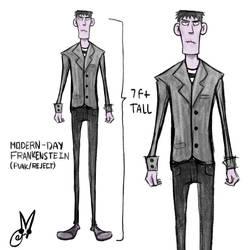 Frankenstein Concept Design
