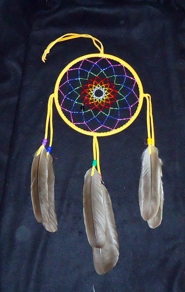 beaded catcher by nativecrafter on deviantart