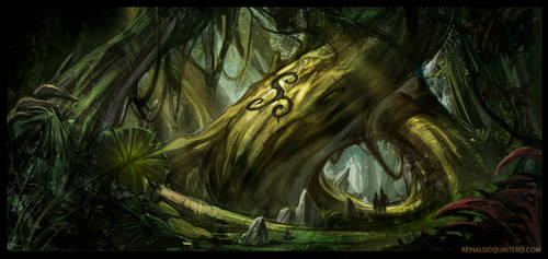Deep in the woods by ReiQuintero