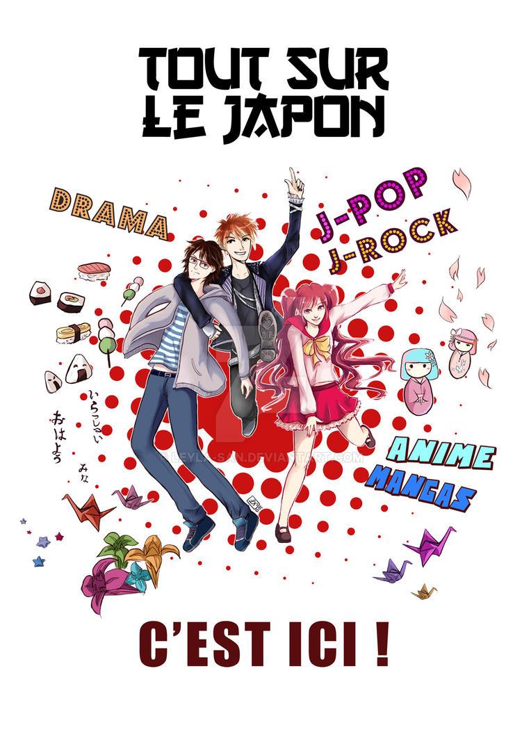 Poster Japan club by Leyla-san