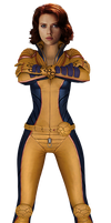 Scarlett Johansson as DC Giganta