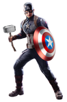 Worthy Captain America PNG - Avengers Endgame