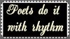 Poet's Stamp by Obsidian-Siren