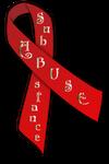 Substance Abuse Ribbon