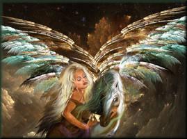 Celestial Flight by Obsidian-Siren