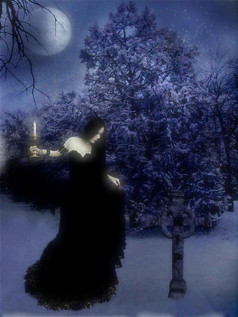 Moonlight Visit by Obsidian-Siren