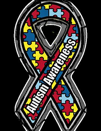 Autistic Awareness Ribbon