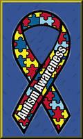 Autistic Awareness Ribbon II