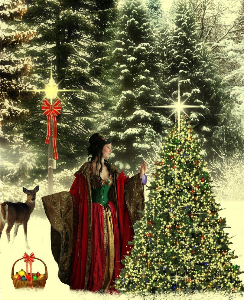 Fantasy Christmas by Obsidian-Siren