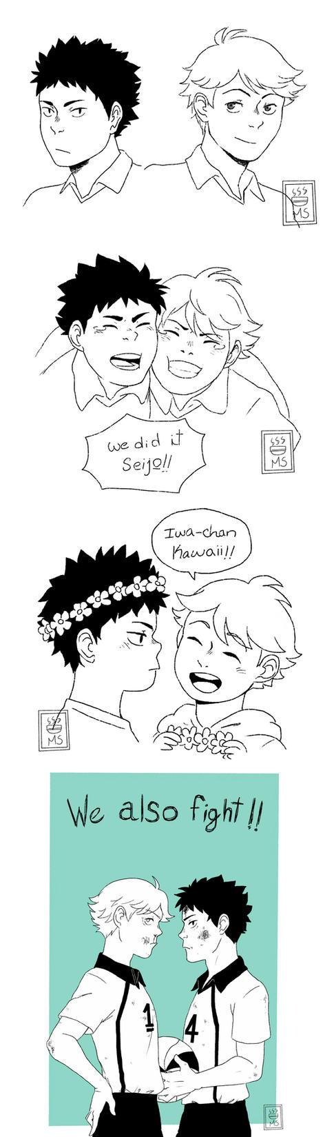 Haikyuu!! Seijou by MaggieSoup