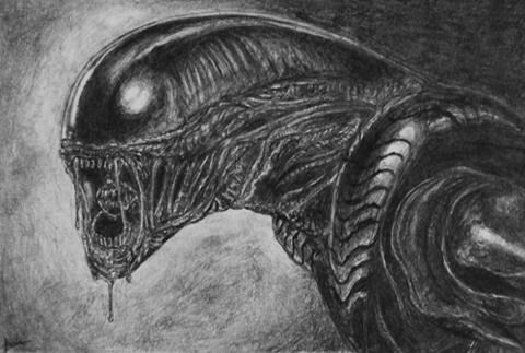 Alien by forestdeer