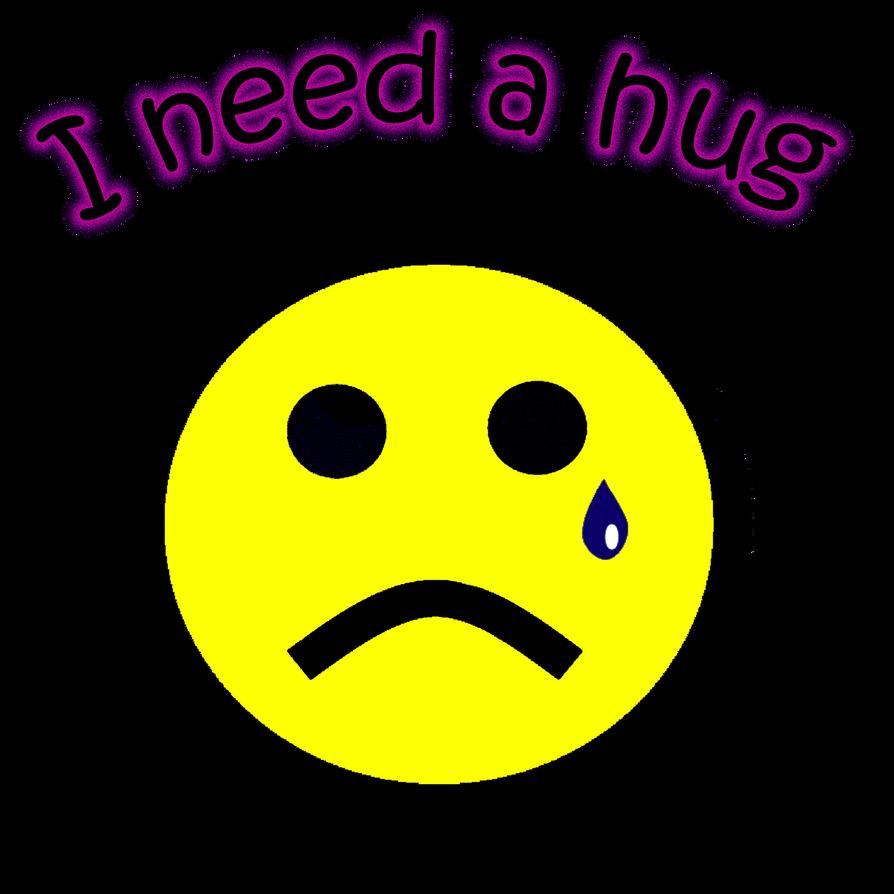 I need a hug logo by TheNamesShade