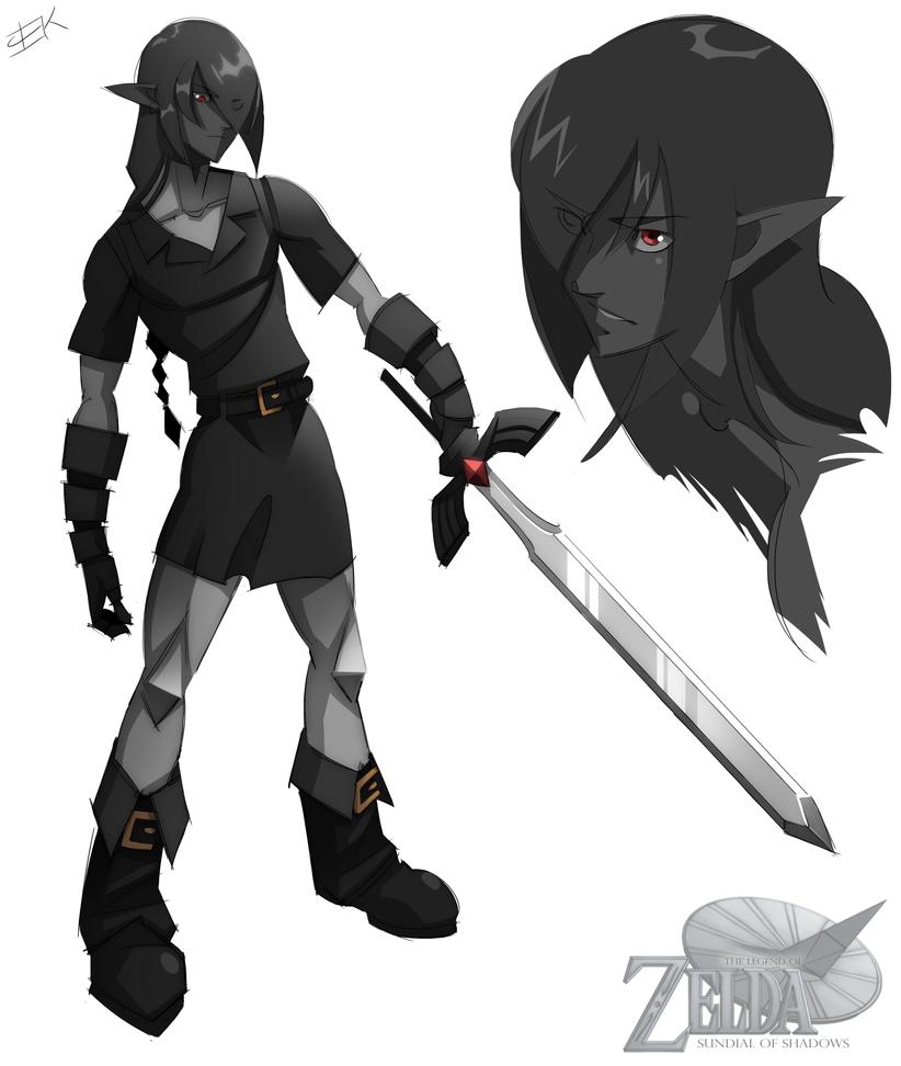 Adult Dark Link by WhiteFoxCub