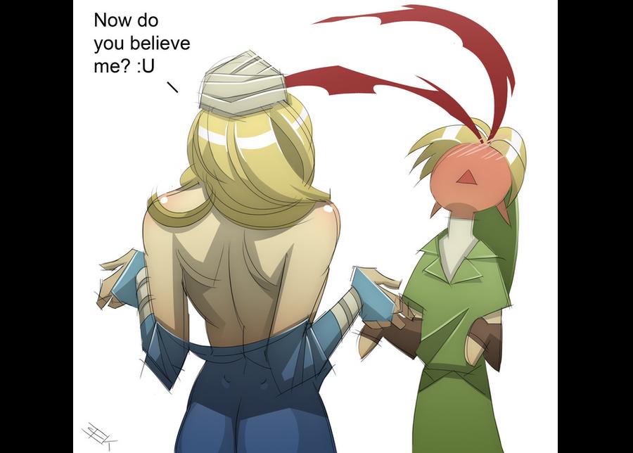 Zelda Revealed by WhiteFoxCub
