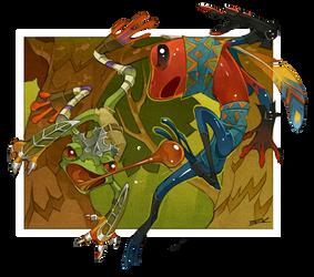 Warrior Frogs