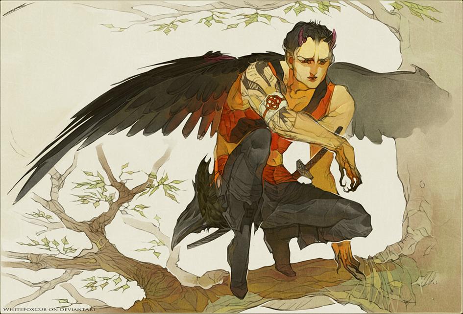 Commission - Arashi by WhiteFoxCub