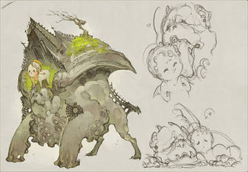 Gargoyle by IJKelly