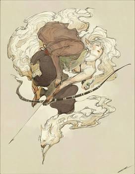 Commission - Kitsune