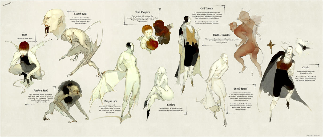 TTB Vampires by WhiteFoxCub
